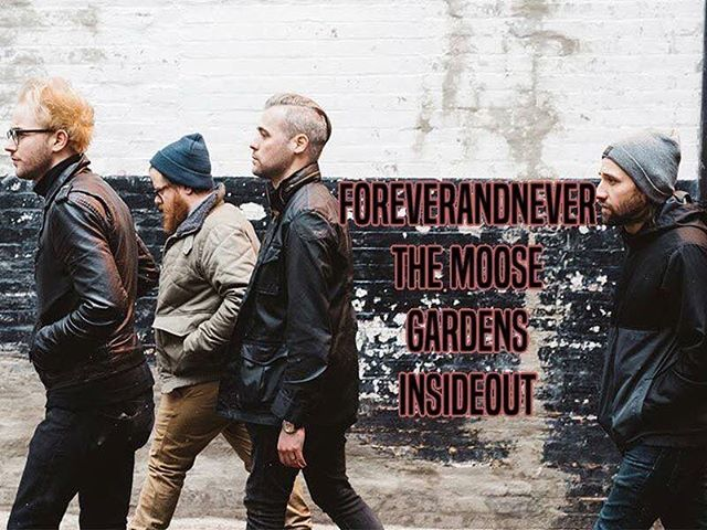 Show tonight with @foreverandneverband @wearegardens and @insideoutchicago at Wire in Berwyn!