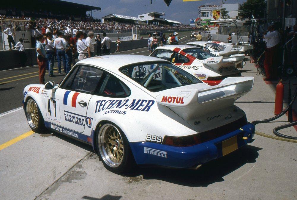 1993 911(964) Carrera RS Le Mans Barth-Dupuy-Gouhier 8 (arch. JM Teissedre).jpg