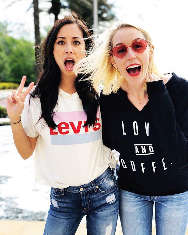 Betty and Veronica take Disneyworld. Girlfrandz forever 👩🏻👩🏼