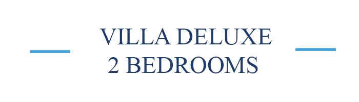 Villa deluxe 2 bedrooms Gili Bali