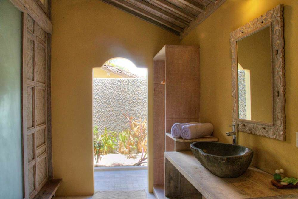 Bathroom indoor villa in gili