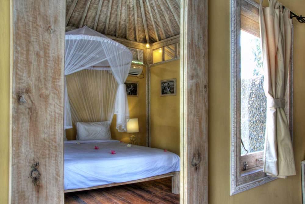 Villa bedroom gili trawangan