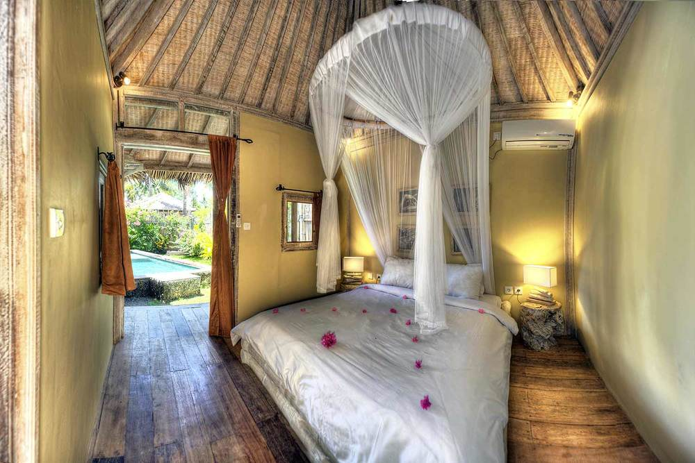 Luxury bedroom Bali - Les Villas Ottalia