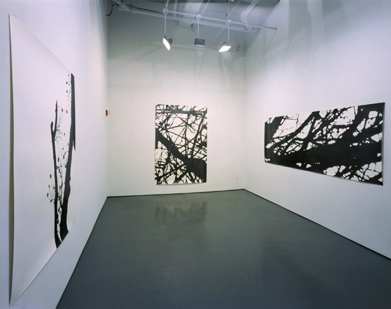White Columns Installation 2002