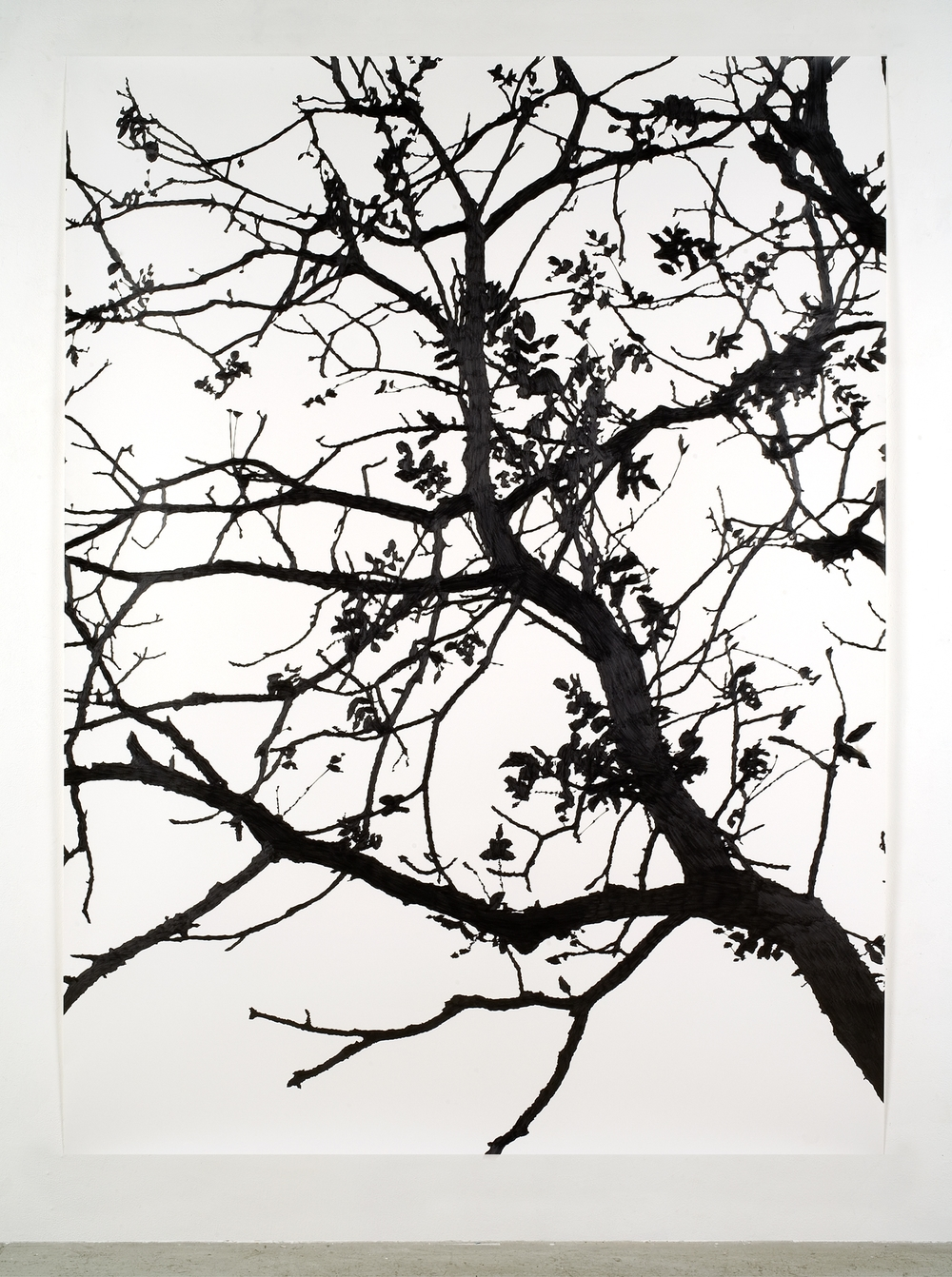 "Daylight 3 , 2006 Pencil on watercolor paper 70"" x 50"" SOLD"