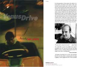 Venus Drive Book design