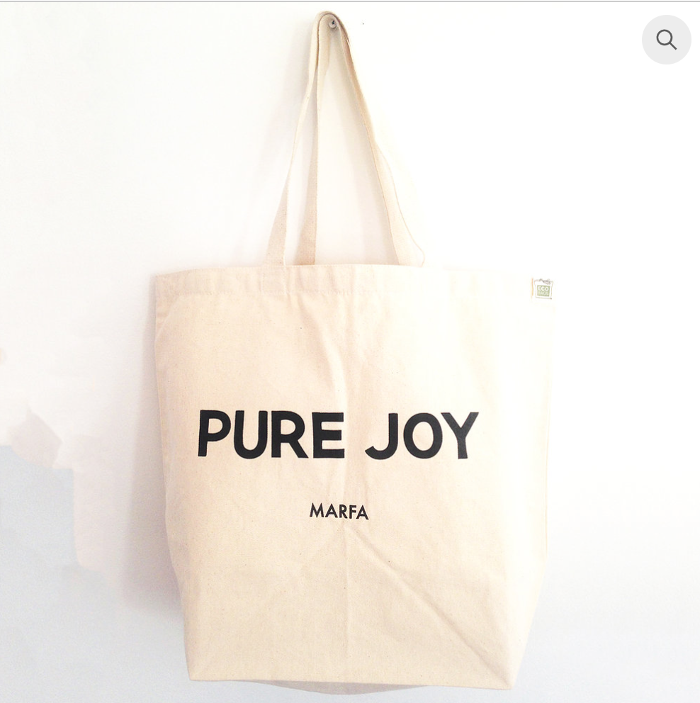 Pure Joy Marfa Brand Creation Website all printed and promo materials.