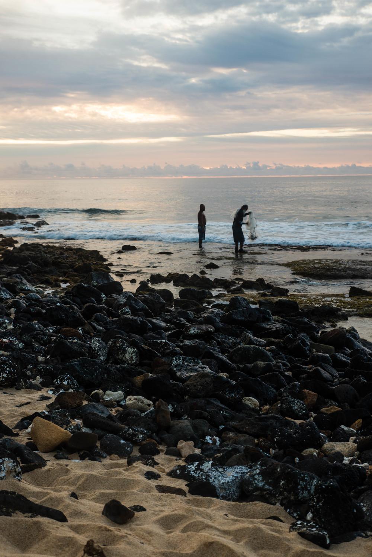 Hawaiian fishermen at sunrise by Stephanie Ray Photography