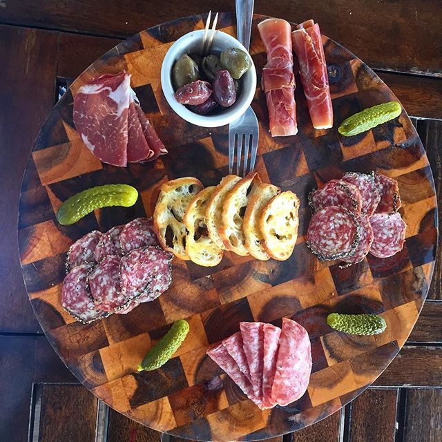 Who doesn't love a charcuterie board!?