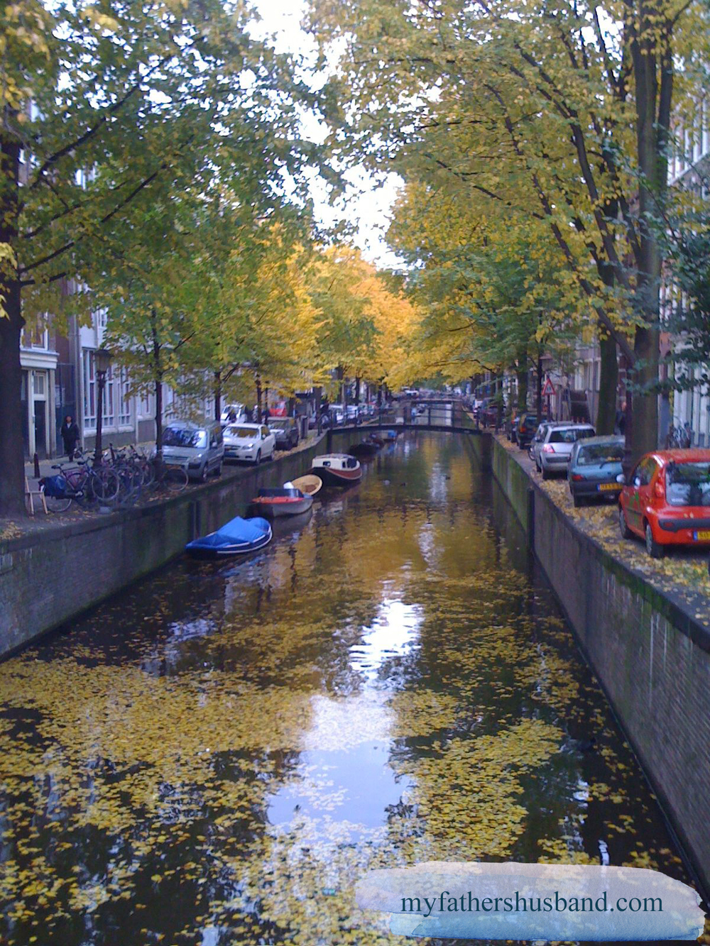 Amsterdam Golden Water myfathershusband.com