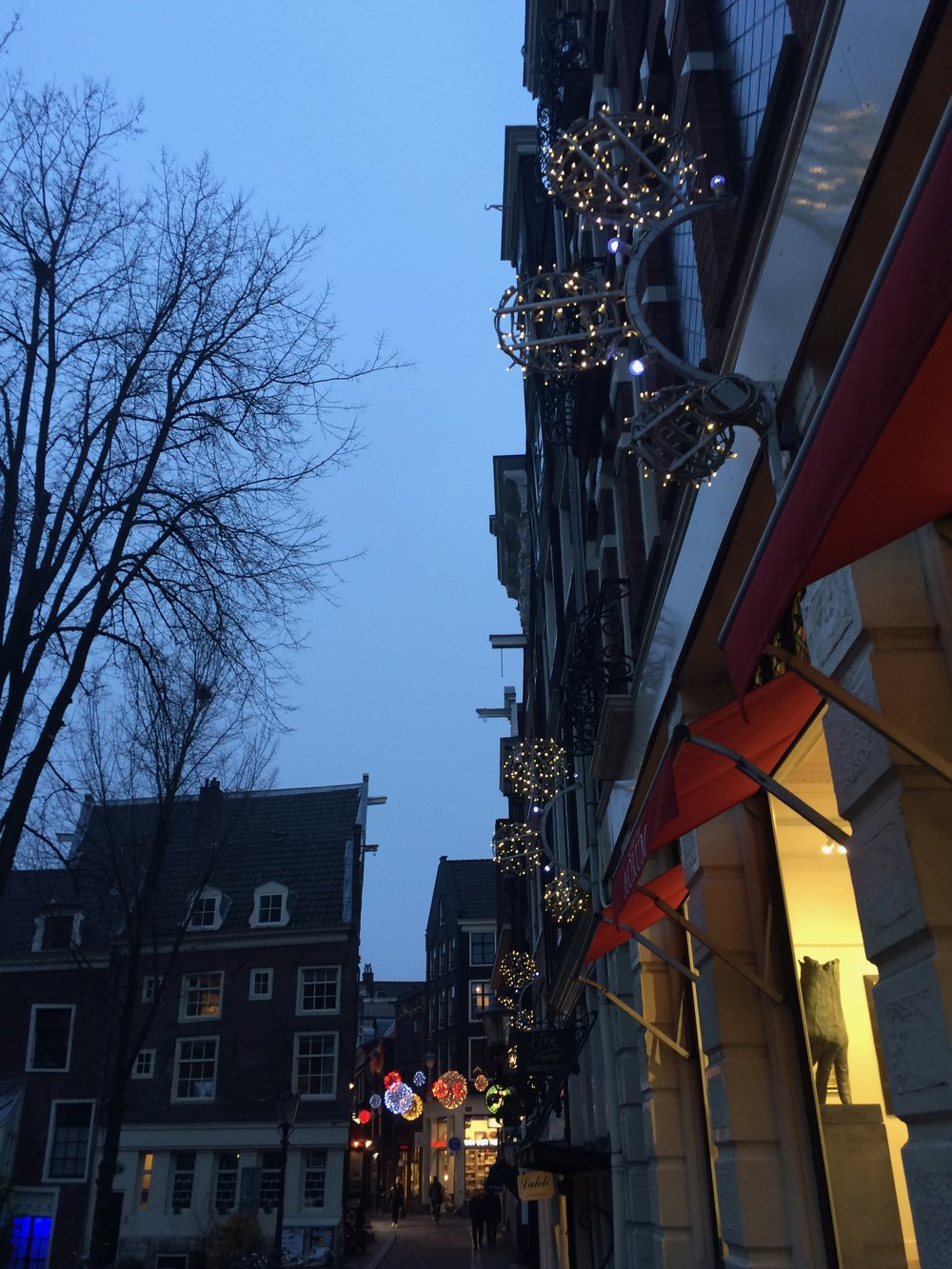 Wanderign in Amsterdam