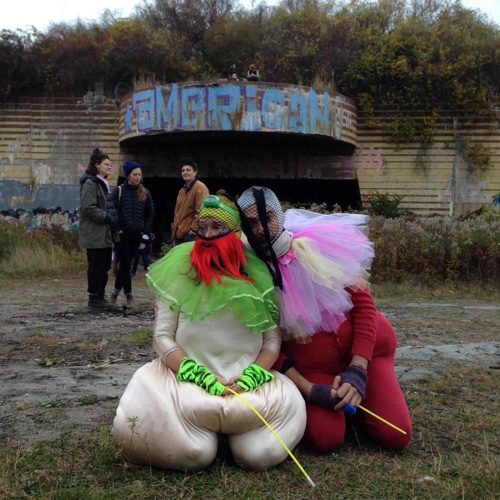 Being a Bouffon, Sacred & Profane Festival, Peaks Island, Maine 2015