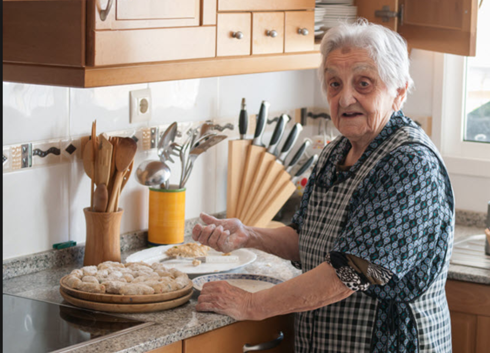 cooking with Alzheimers