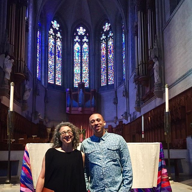 #musicofthespheres2017 is coming together thanks to an incredible team! Couldn't do it without Rebecca at @gracecathedral and @kevchoice Much respect and gratitude ✌️