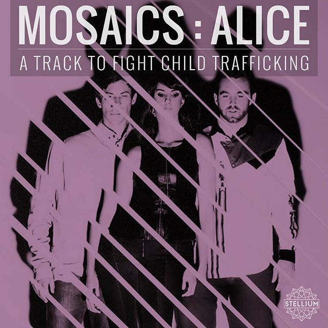 "Thrilled to release ""Alice"" today and mark the start of a partnership with @we.are.mosaics to #fightchildtrafficking thru music! Thank you and welcome to the Stellium fam!  You can catch them tonight at @bottomofthehillsf and purchase the track to join the fight. [link in bio] #indiemusic #sfbayareamusic"