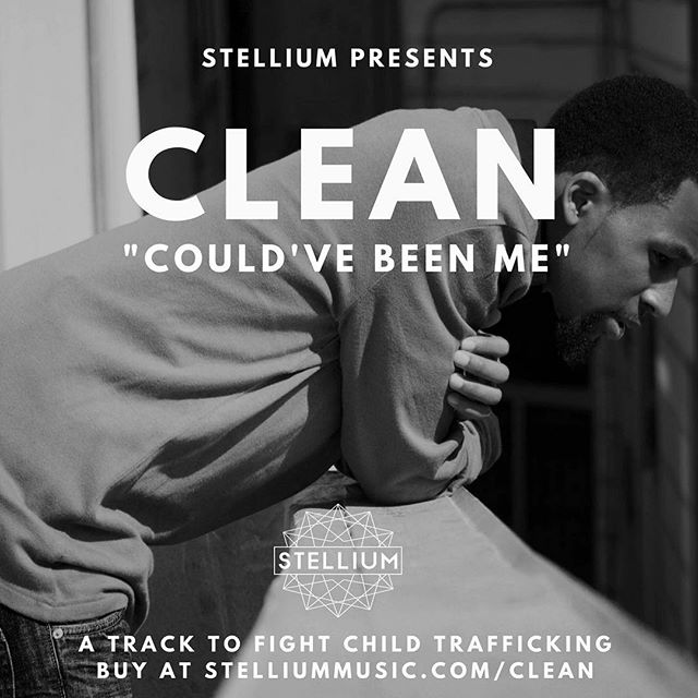 "Dropping a new track by @greenmusicclean today! ""Could've Been Me"" supports the fight against #childtrafficking Join the fight by purchasing this exclusive Stellium track: stelliummusic.com/clean"