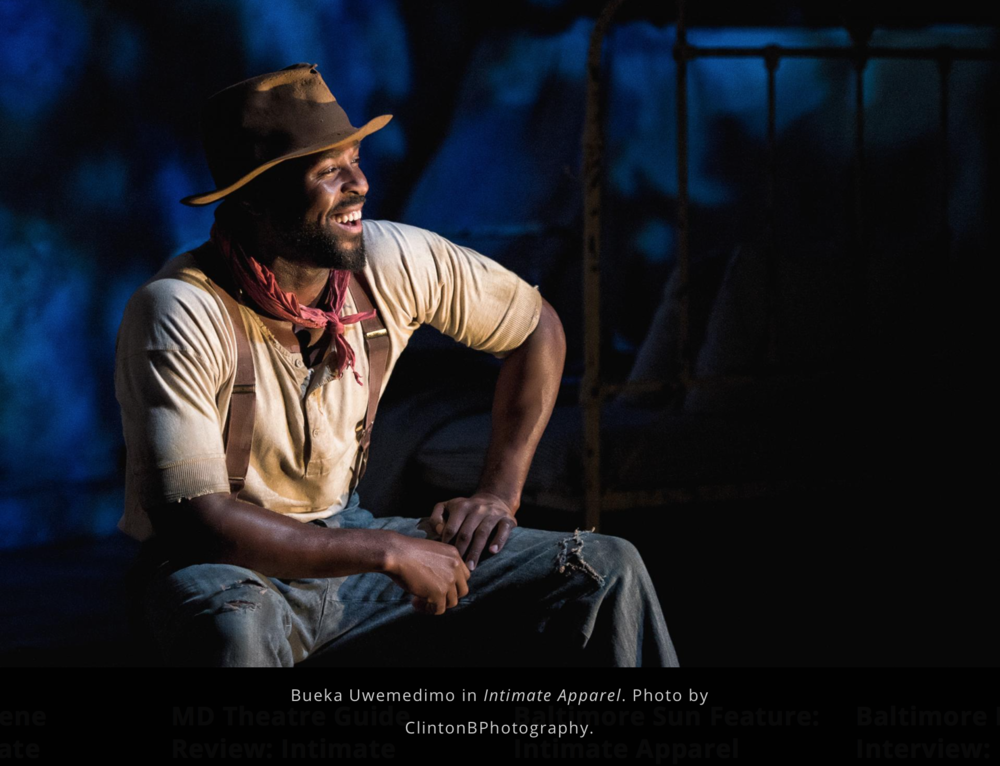 Bueka Uwemedimo as George Armstrong in Intimate Apparel.png