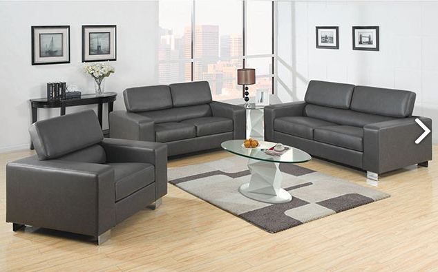 Living Room Furniture Hawaii Sofas amp Sectionals  : cm6336makribondedleathersofasetgreyhonoluluhawaiioahudiscount furniture warehouse from www.hawaiidiscountfurniture.com size 634 x 395 png 258kB
