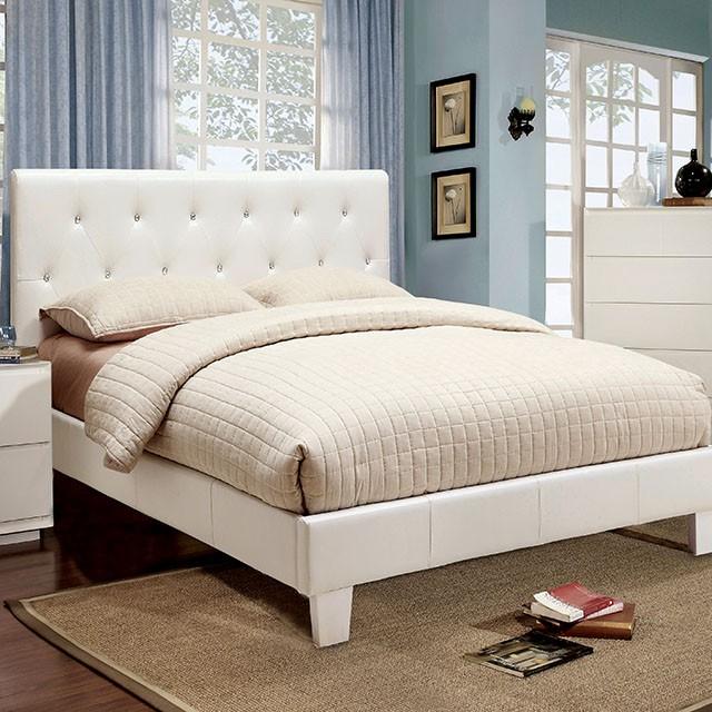 Velen_white_crystal Bed_cm7949_honolulu_hawaii_oahu_discount Furniture  Warehouse