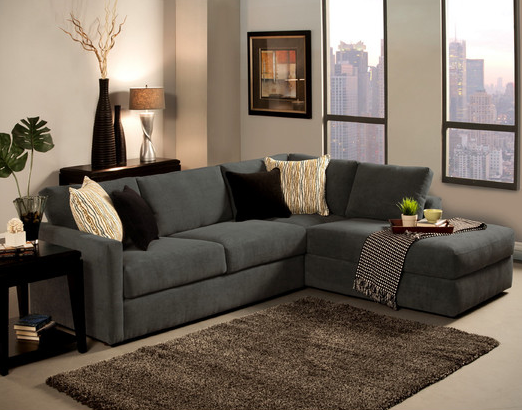 Cachet_sectional_shark_grey_honolulu_hawaii_oahu_discount Furniture  Warehouse.png