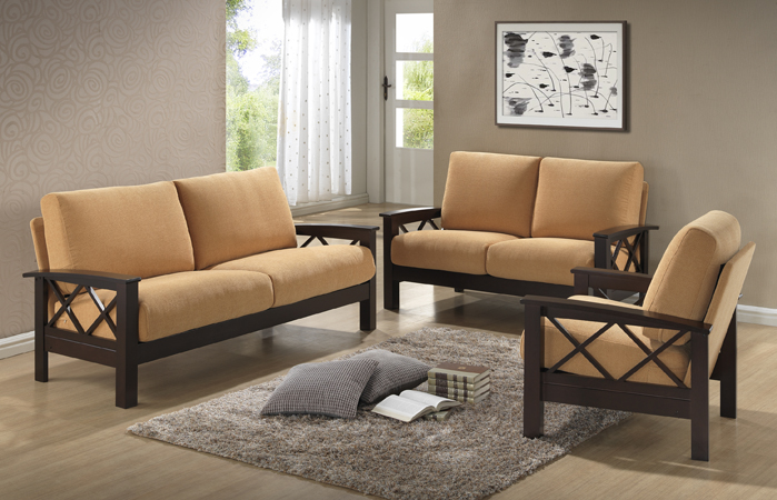 2945_ 2915_X Side_ Wooden_arms_sofa_loveseat_honolulu_hawaii_oahu_discount  Furniture Warehouse