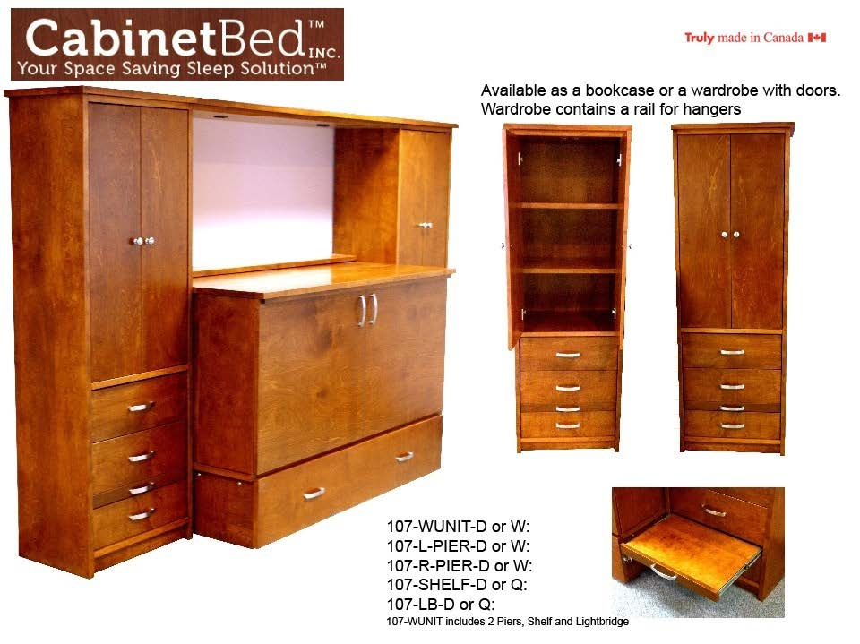 Cabinet Bed Discount Furniture Warehouse