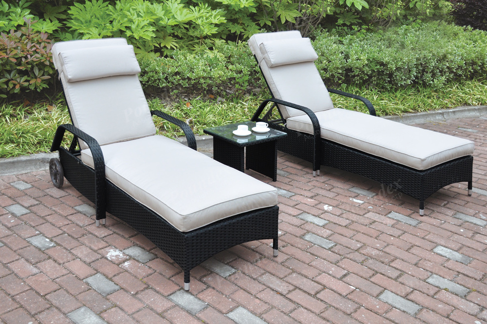 High Quality 431_rattan_outdoor_black_white_bistro_dining_honolulu_hawaii_oahu_discount  Furniture Warehouse