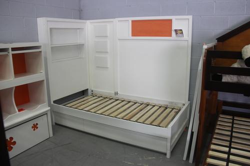 nickelodeon white storage twin bed honolulu hawaii oahu discount furniture  warehouse JPG. Scratch   Dent   Discount Furniture Warehouse
