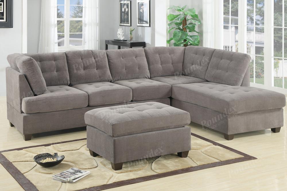 F7139 Grey_sectional_discount_furniture_warehouse_honolulu_hawaii_oahu