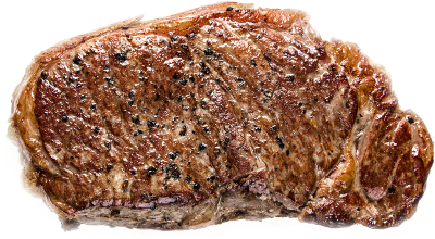 Better electronics, better steak.