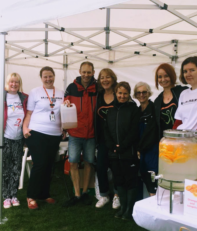 Healthy Futures Team brave the weather at Creekfest - March 2017