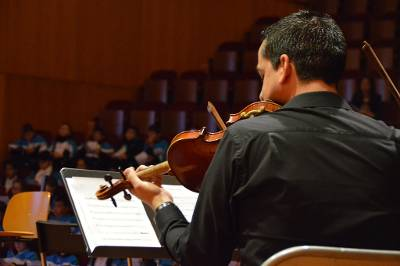 Concierto didáctico protagonizado por profesores del Conservatorio Profesional de Música de Las Palmas