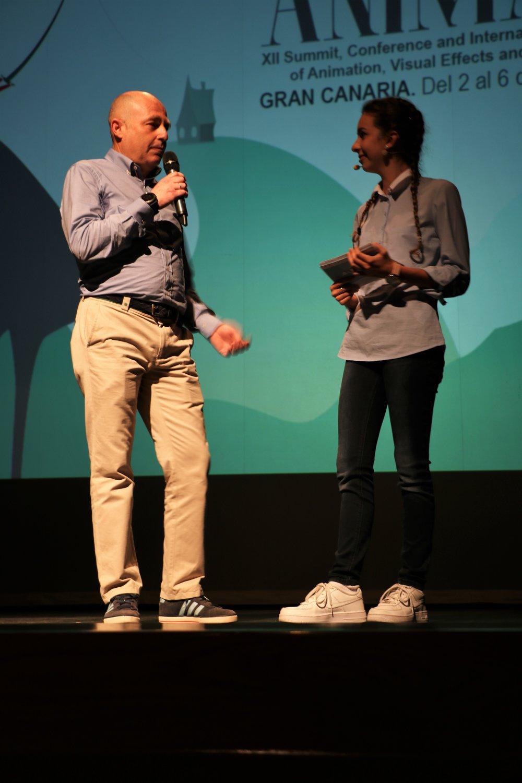 Representante de CESUR, escuela de animación y efectos especiales en Gran Canaria