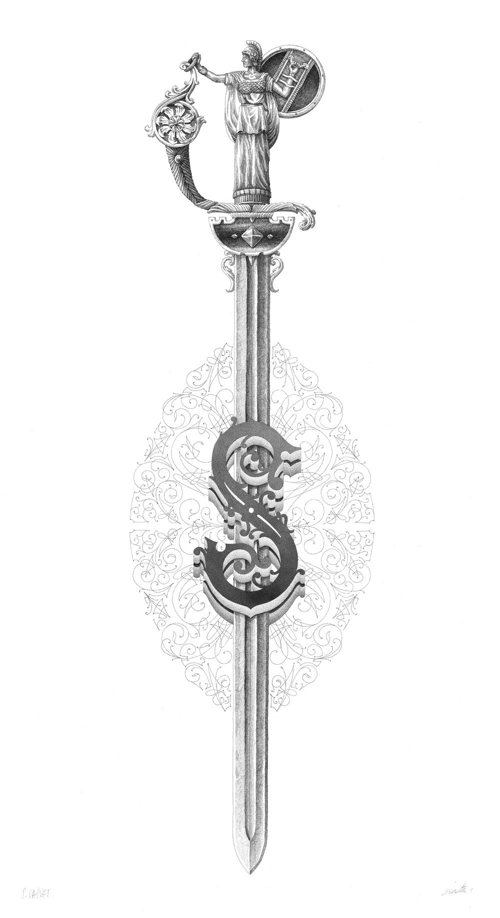 """S""""WORD — STEEVEN SALVAT"""
