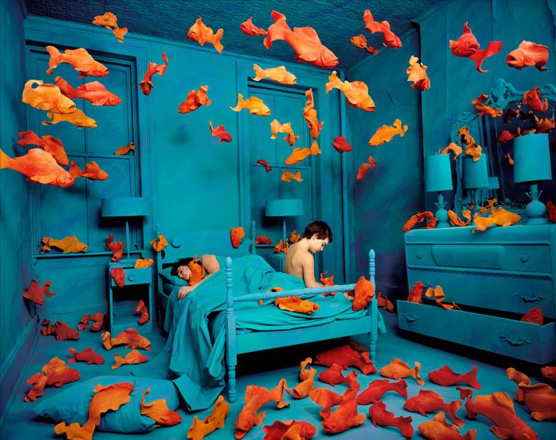Sandy Skoglund // Revenge of the Goldfish