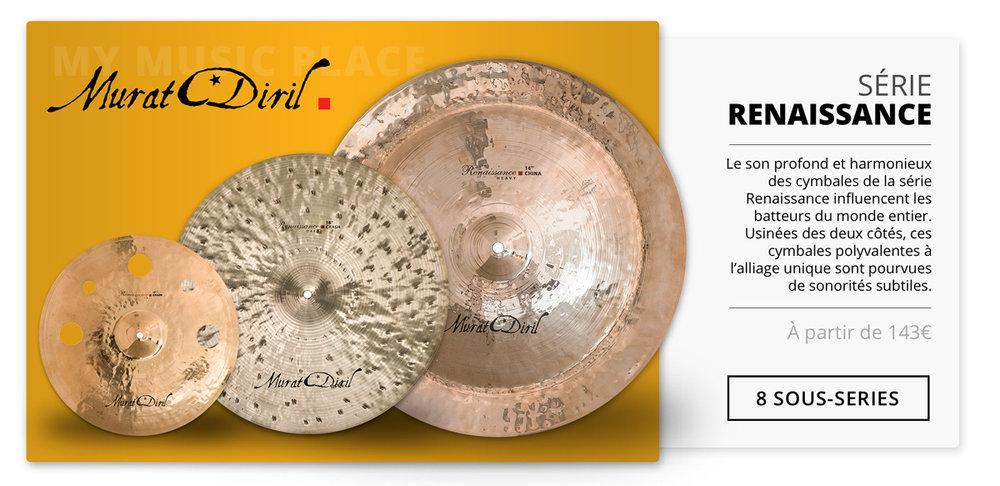 Cymbals Murat Diril Renaissance