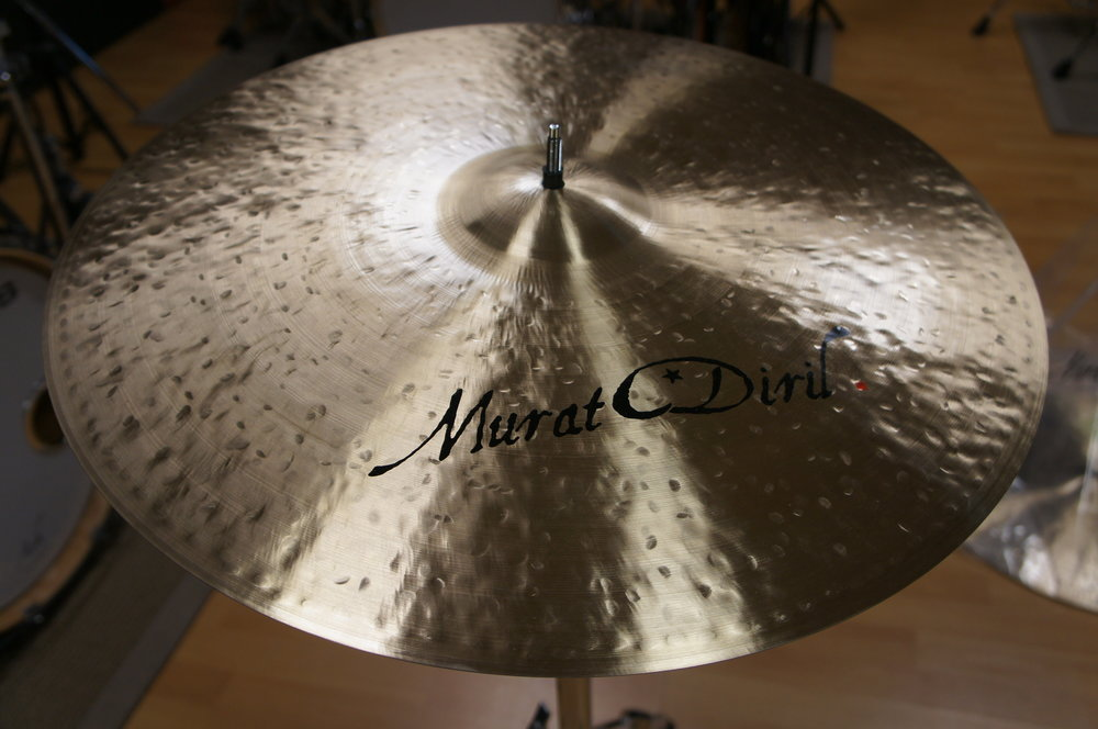 "RIDE 22"" - Jazz prototype - CUSTOM SHOP by MURAT DIRIL"