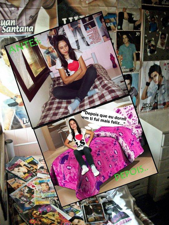 Ganhadora promoção Luan Santana