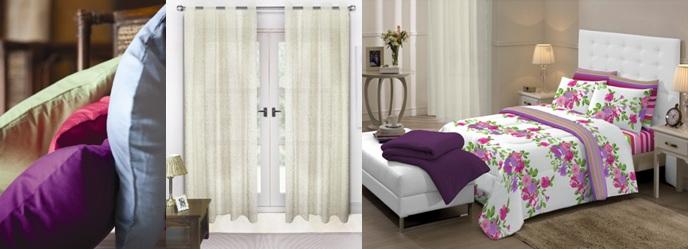 Almofadas de microfibra, linha de decoração cortina para e jogo de cama, edredom e kit cobre leito