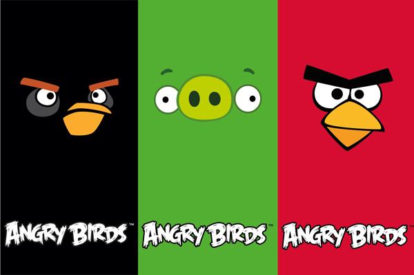 Linha Angry Birds