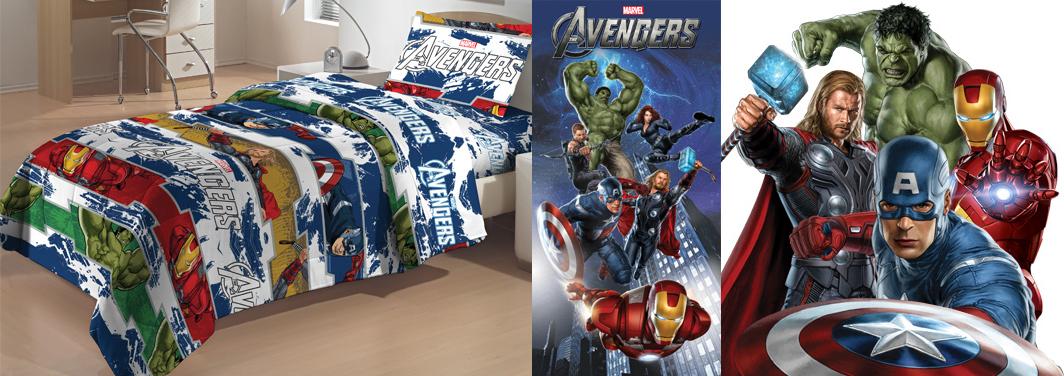 Linha Avengers