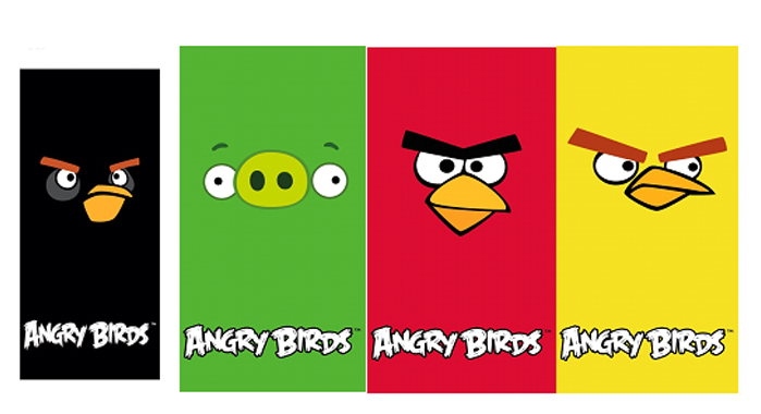 Toalhas Angry Birds