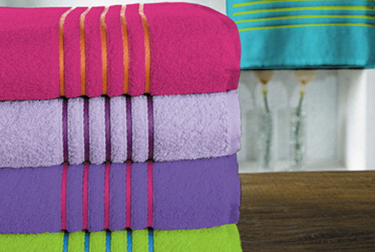 Linha de toalhas de banho Firenze