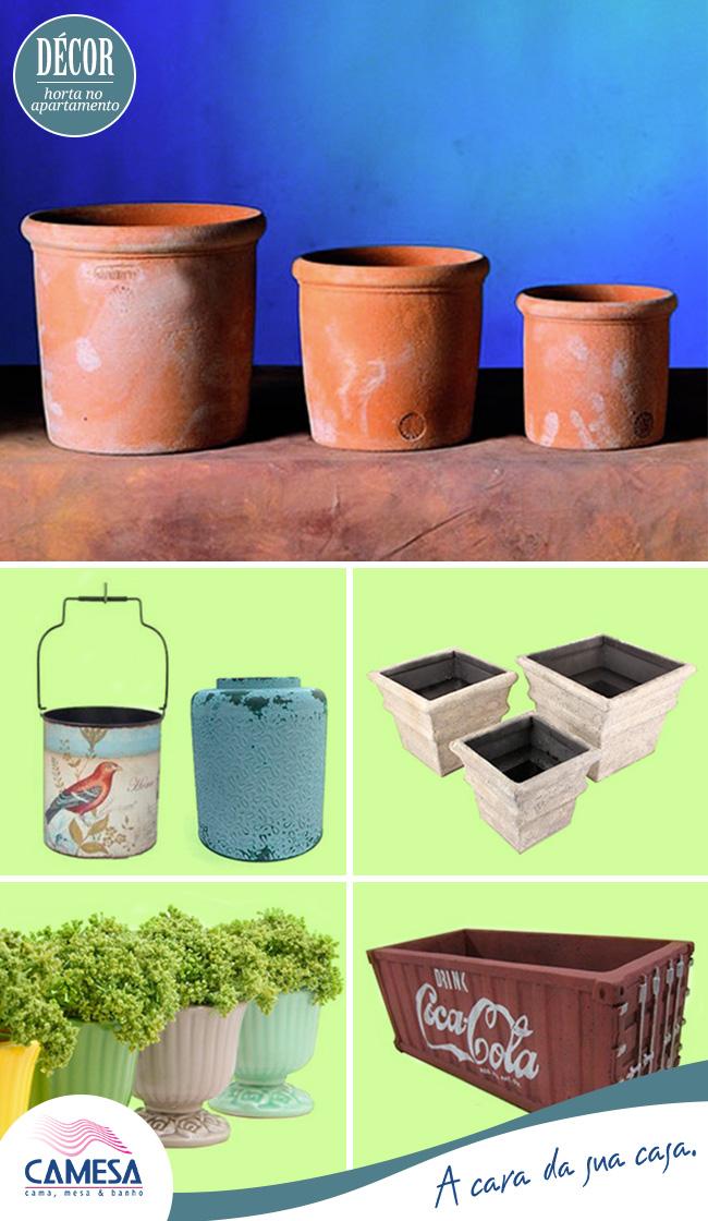 Como escolher o vaso ideal para uma horta de apartamento