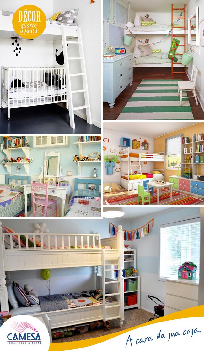 Decorando e organizando o quarto das crianças.