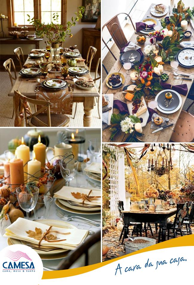 Organizando a mesa de jantar!