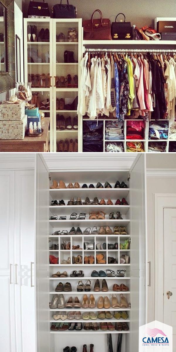Sapatos lindos e limpos sempre!