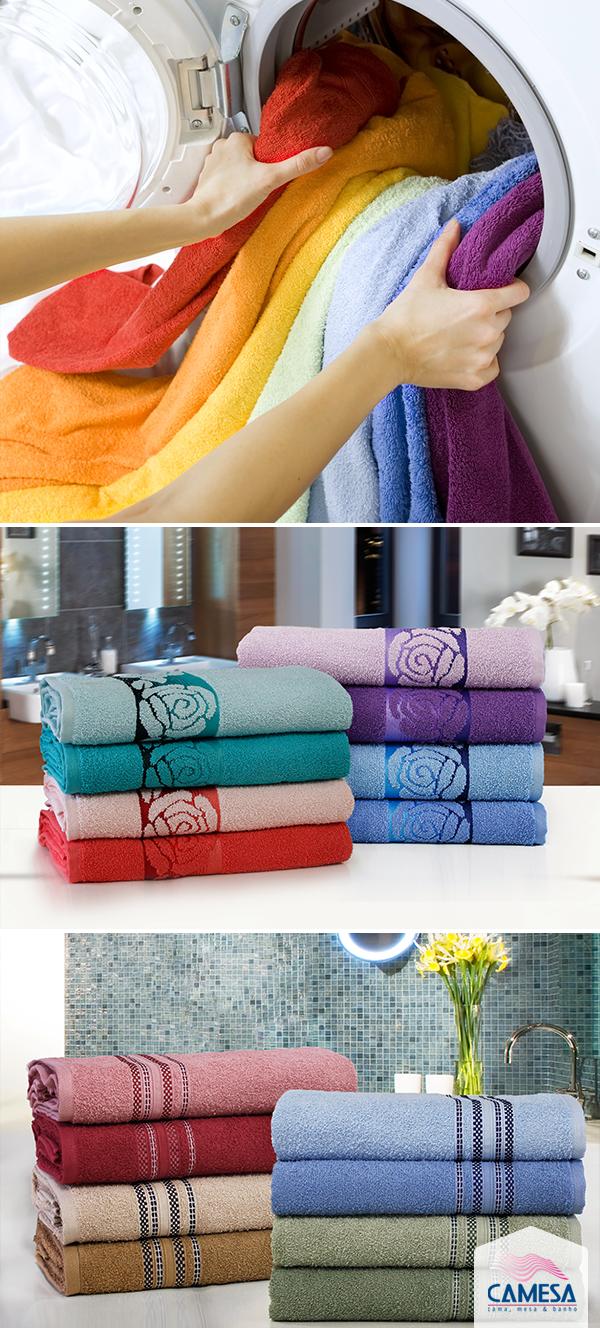 Acerte nos cuidados com as tolhas de banho