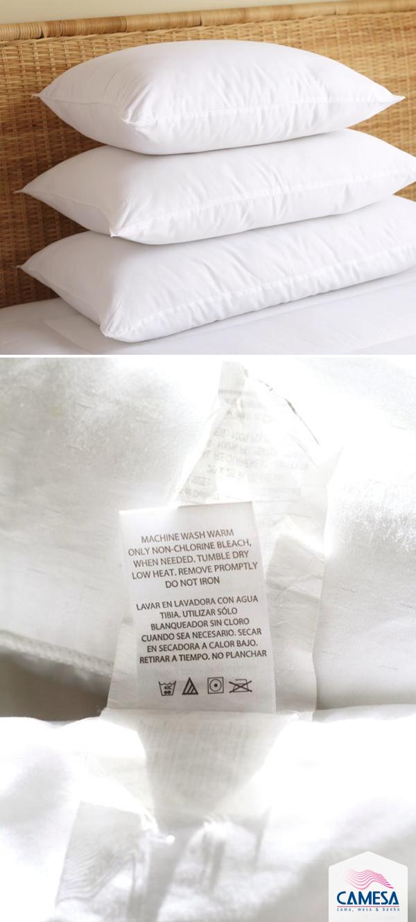 Cuidados com travesseiro