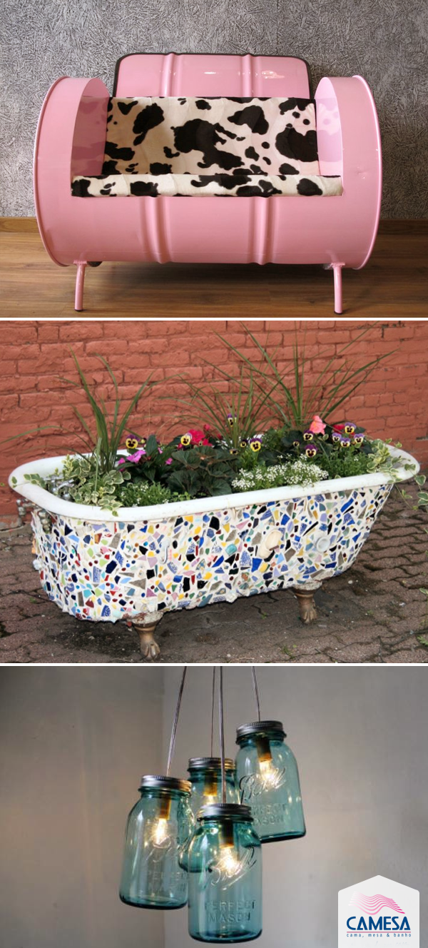 Upcycling na décor